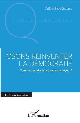 Couverture Osons réinventer la démocratie