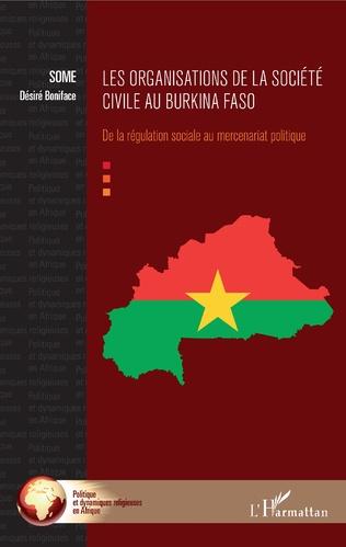 Couverture Les organisations de la société civile au Burkina Faso