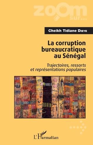 Couverture La corruption bureaucratique au Sénégal