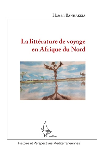 Couverture La littérature de voyage en Afrique du Nord