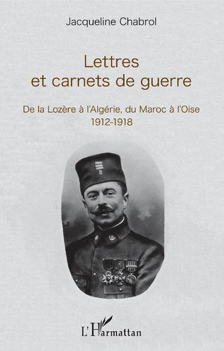 Couverture Lettres et carnets de guerre