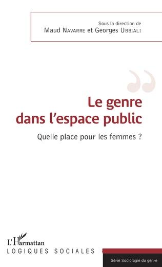 Couverture Le genre dans l'espace public