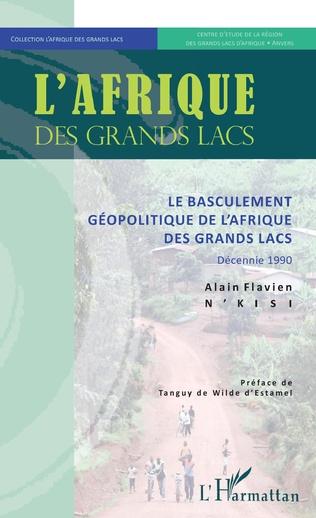 Couverture Le basculement géopolitique de l'Afrique des Grands Lacs
