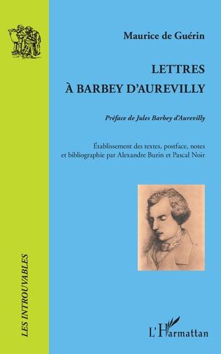 Couverture Lettres à Barbey d'Aurevilly