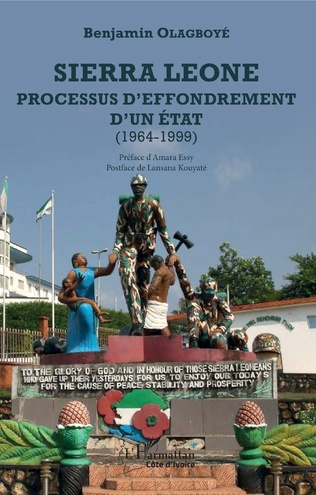 Couverture Sierra Leone processus d'effondrement d'un état (1964-1999)
