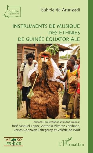 Couverture Instruments de musique des ethnies de Guinée équatoriale