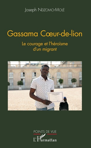 Couverture Gassama Coeur-de-lion
