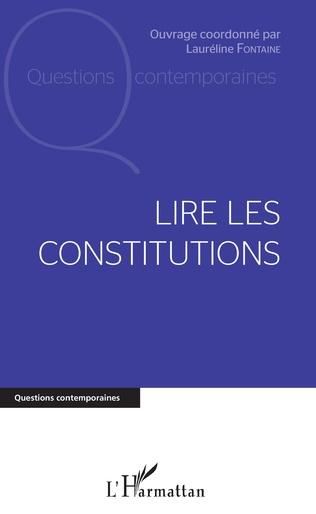 Couverture Lire les constitutions