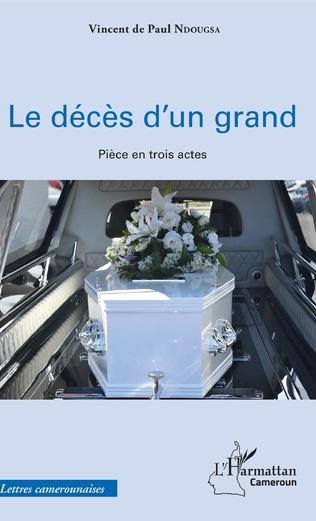 Couverture Le décès d'un grand