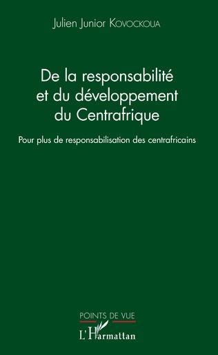 Couverture De la responsabilité et du développement du Centrafrique