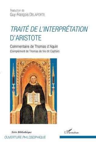 Couverture Traité de l'interprétation d'Aristote