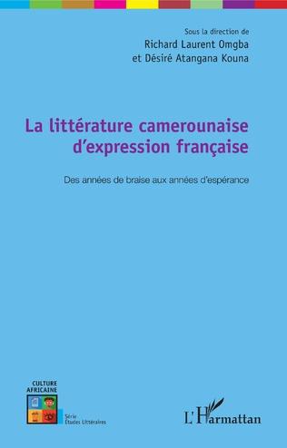 Couverture La littérature camerounaise d'expression française
