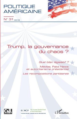 Couverture Trump, la gouvernance du chaos ?
