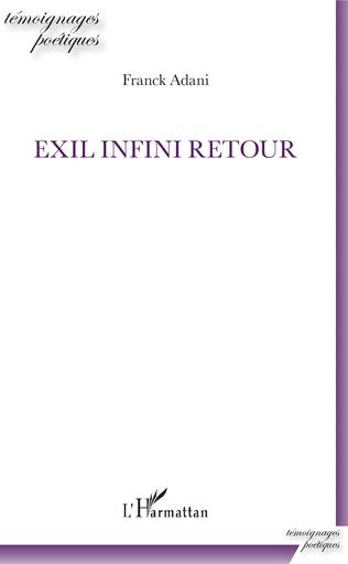 Couverture Exil infini retour