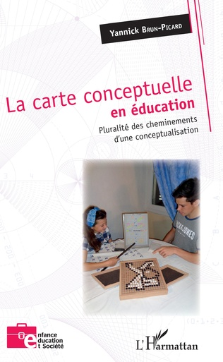 Couverture La carte conceptuelle en éducation