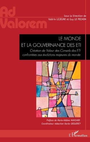 Couverture Le monde et la gouvernance des ETI