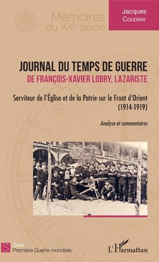 Couverture Journal du temps de guerre