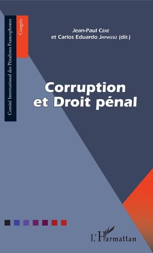 Couverture Corruption et Droit pénal