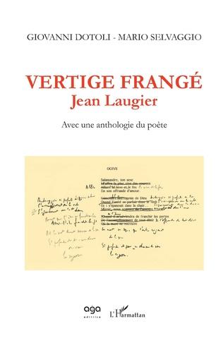 Couverture Vertige frangé - Jean Laugier