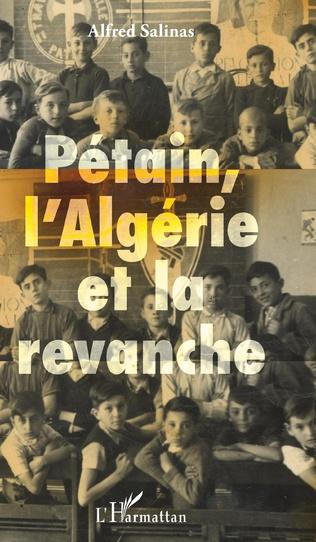 Couverture Pétain, l'Algérie et la revanche