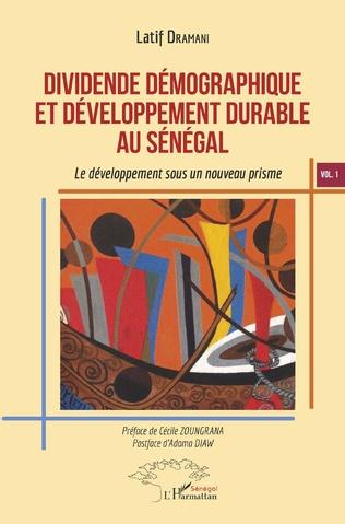 Couverture Dividende démographique et développement durable au Sénégal Vol 1
