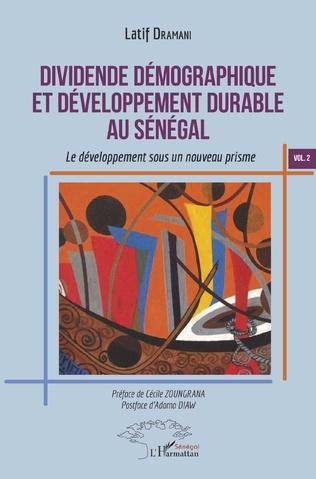 Couverture Dividende démographique et développement durable au Sénégal Vol 2
