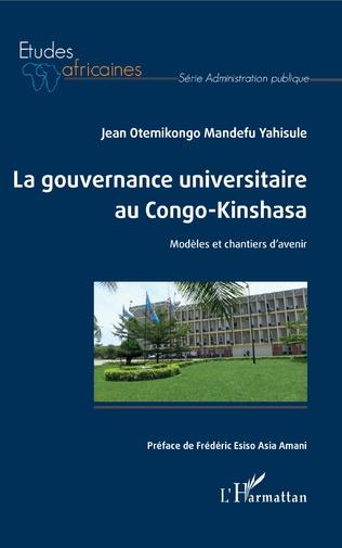 Couverture La gouvernance universitaire au Congo-Kinshasa