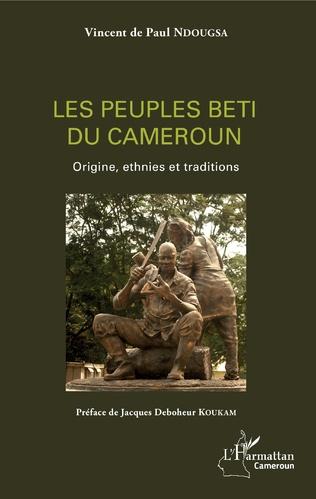 Couverture Les peuples beti du Cameroun