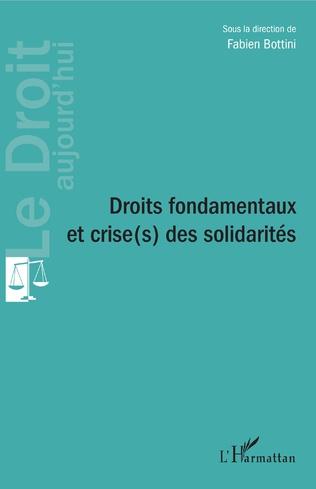 Couverture Droits fondamentaux et crise(s) des solidarités