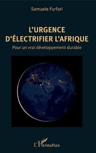 Couverture L'urgence d'électrifier l'Afrique