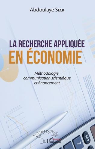 Couverture La recherche appliquée en économie