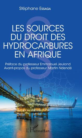 Couverture Les sources du droit des hydrocarbures en Afrique