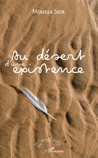 Couverture Au désert d'une existence