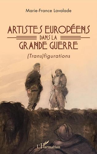Couverture Artistes européens dans la Grande Guerre