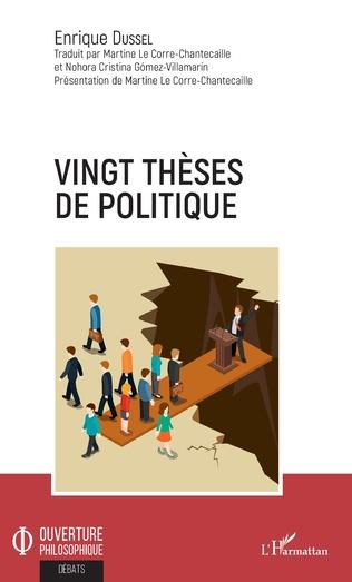 Couverture Vingt thèses de politique