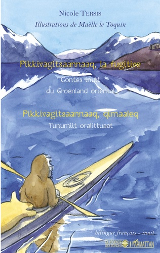Couverture Pikkivagitsaannaaq, la fugitive
