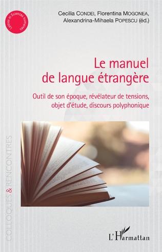 Couverture le manuel de langue étrangère