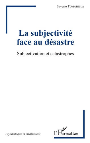 Couverture La subjectivité face au désastre