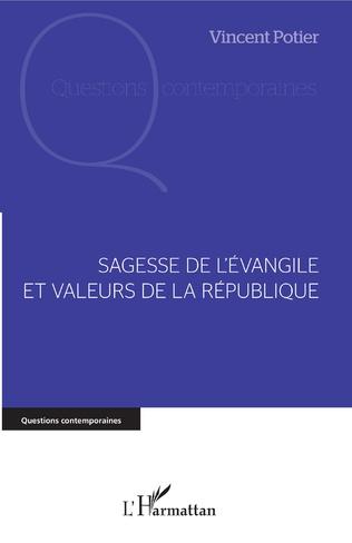 Couverture Sagesse de l'Evangile et valeurs de la République