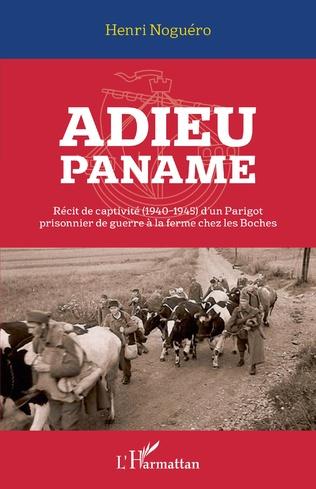 Couverture Adieu Paname
