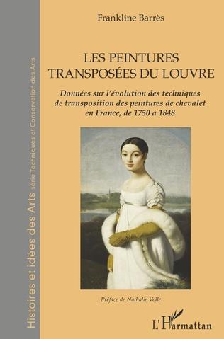 Couverture Les peintures transposées du Louvre