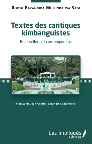 Couverture Textes des cantiques kimbanguistes