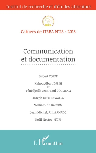 Couverture Communication et documentation