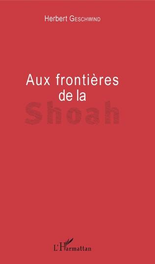 Couverture Aux frontières de la Shoah