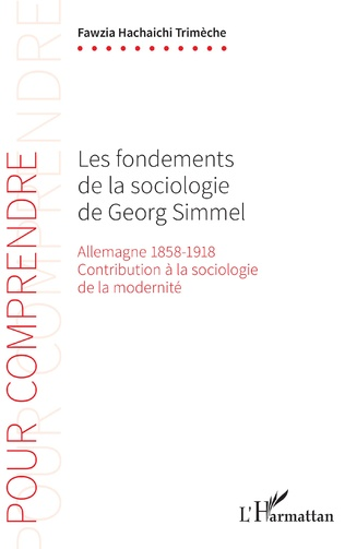 Couverture Les fondements de la sociologie de Georg Simmel