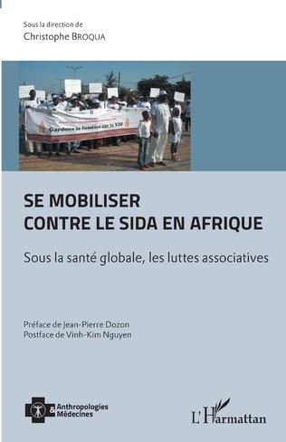 Couverture Se mobiliser contre le sida en Afrique