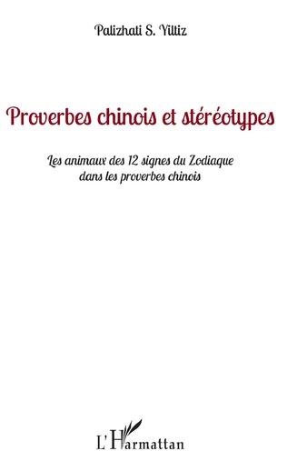 Couverture Proverbes chinois et stéréotypes