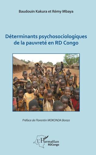 Couverture Déterminants psychosociologiques de la pauvreté en RD Congo
