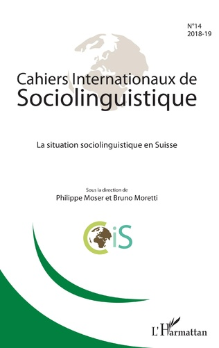 Couverture La Situation sociolinguistique en Suisse