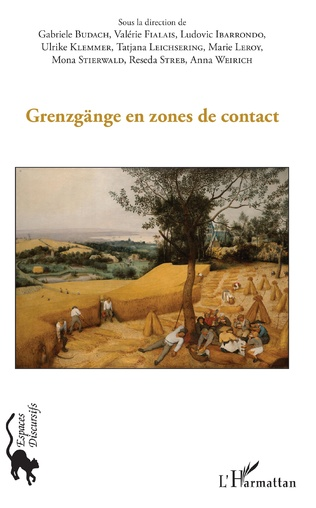 Couverture Grenzgange en zones de contact